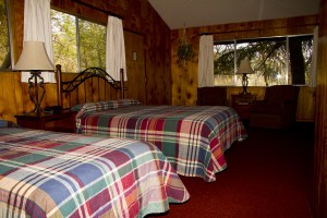 accommodations, cabins