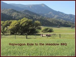 haywagon ride to BBQ