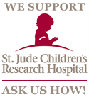 We support St. Jude.